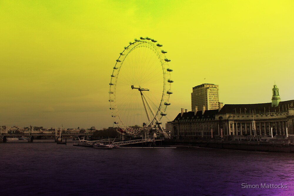 London Eye by Simon  Mattocks