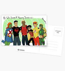 Wir haben junge Gerechtigkeit gerettet Postkarten