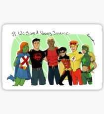 We Saved Young Justice Sticker