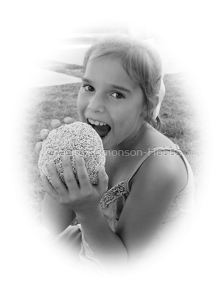 """Don't Eat That"""" black and white by Chasity Edmonson-Hobbs"""