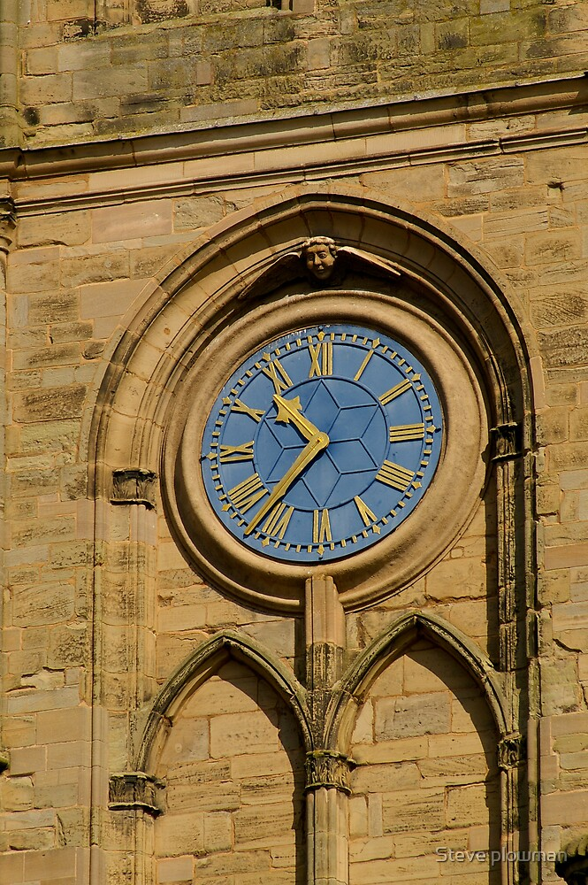 Church clock by Steve plowman