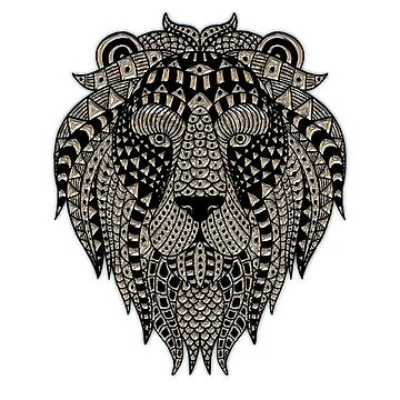 Lion Head by connor95