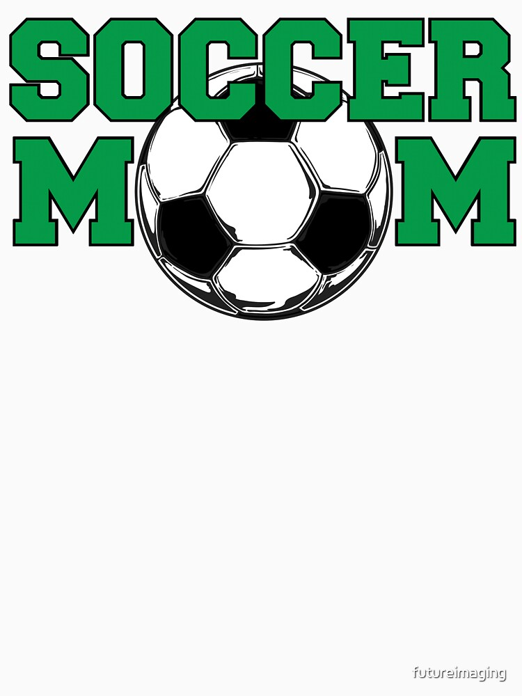 Soccer Mom in Green by futureimaging