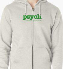 Psych Zipped Hoodie
