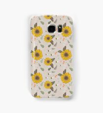 Sunflowers and daisies Samsung Galaxy Case/Skin