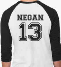 NEGAN 13 baseball , Walking Dead  Men's Baseball ¾ T-Shirt