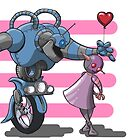 Love, True Robot Love by grosvenordesign