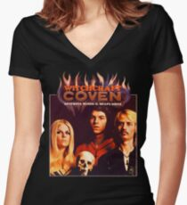Coven Shirt! Women's Fitted V-Neck T-Shirt