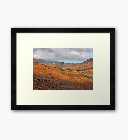 Langdale Fells  Framed Print