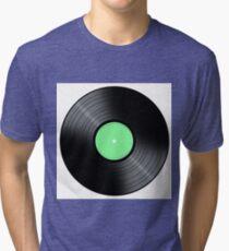 Music Record Tri-blend T-Shirt