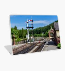 Levisham Station Laptop Skin