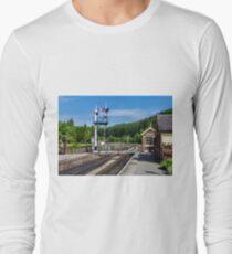 Levisham Station Long Sleeve T-Shirt