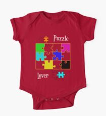 Puzzle Lover Kids Clothes