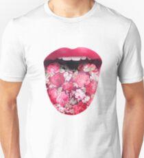 FLOWER TONGUE Unisex T-Shirt