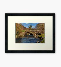 Packhorse Bridge River Duddon Framed Print