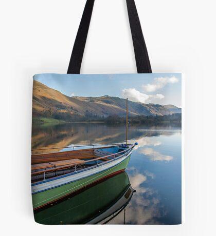 Sailing on Ullswater Tote Bag