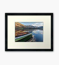 Sailing on Ullswater Framed Print
