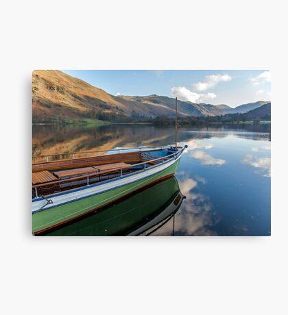 Sailing on Ullswater Canvas Print