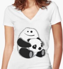 Yeti? Women's Fitted V-Neck T-Shirt