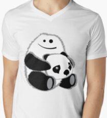 Yeti? Mens V-Neck T-Shirt