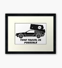 Time Travel is possible ©  Framed Print