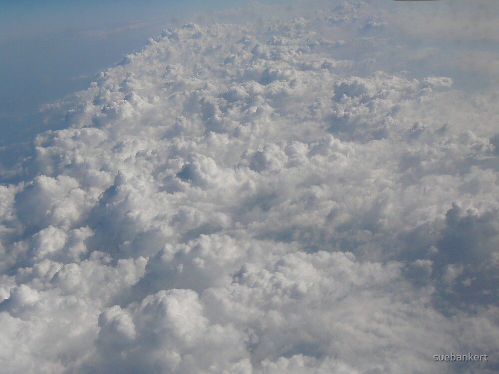 Looking Down on the Clouds by suebankert