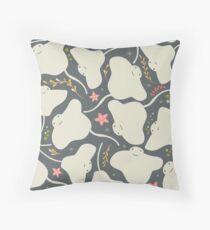 Stingray 003 Throw Pillow