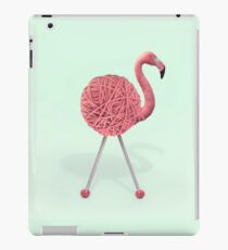 YARN FLAMINGO iPad Case/Skin