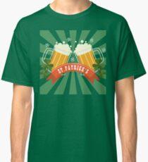 Saint St Patricks Day Irish Drink Beer Happy Drunk Classic T-Shirt