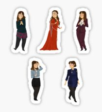 Every Clara Outfit Ever #6 Sticker