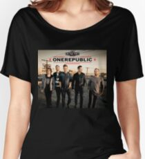 ONE REPUBLIC CIVIC TOUR 2017 CREW KUNTUM Women's Relaxed Fit T-Shirt