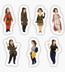 Every Clara Outfit Ever #8 Sticker