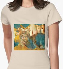 Channeling the Classics Women's Fitted T-Shirt