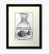 Surreal Fish Framed Print