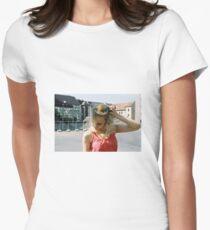 Pink Femininity 6 Womens Fitted T-Shirt
