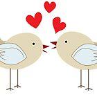 Love birds by portokalis