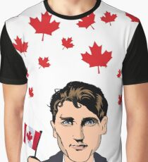 It's Raining Trudeau Graphic T-Shirt