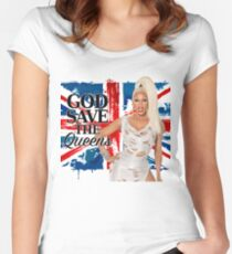 God Save The Queens Women's Fitted Scoop T-Shirt