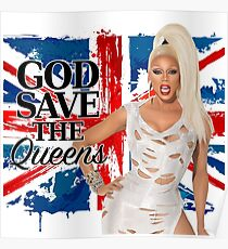 God Save The Queens Poster