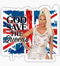 God Save The Queens Sticker