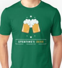 Saint St Patricks Day Irish Drink Beer Happy Drunk T-Shirt