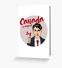 Canada is Magical Greeting Card