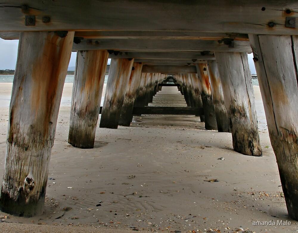 pier in colour by amanda Male