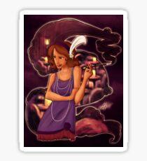 Undercover Widow Sticker