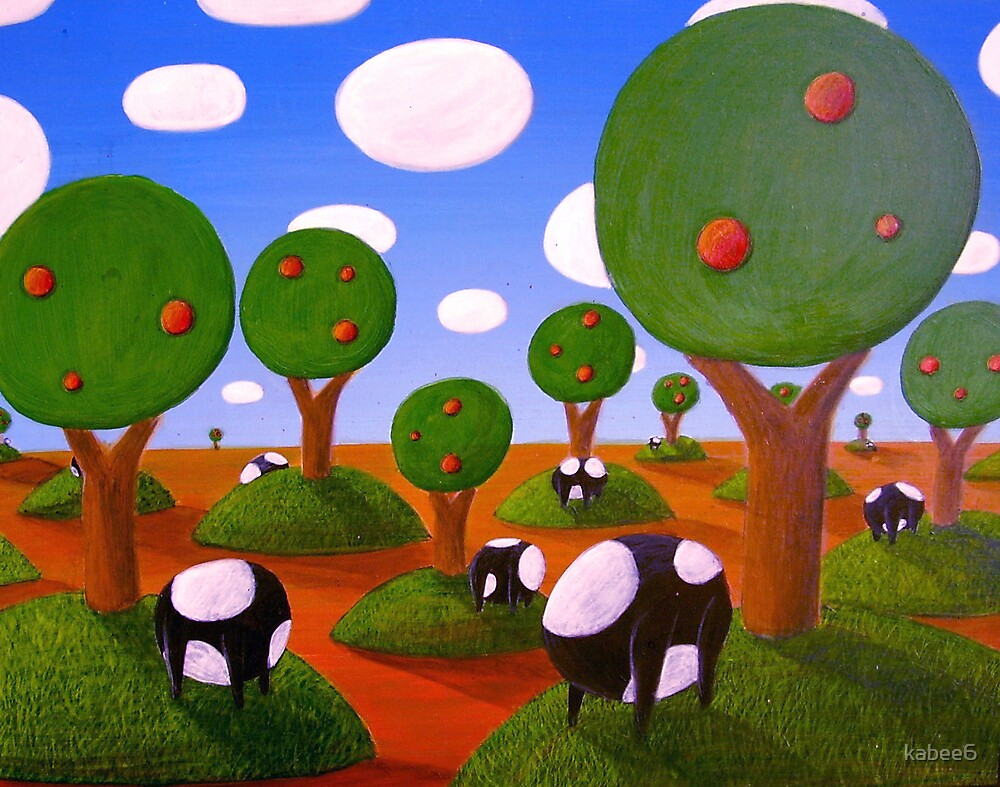 boweless cows by kabee6