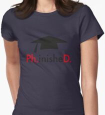 Ph.D. Womens Fitted T-Shirt