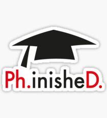 Ph.D. Sticker