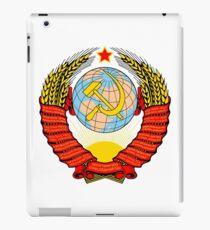 USSR Coat of Arms iPad Case/Skin