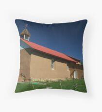Arroyo Seco Church Throw Pillow