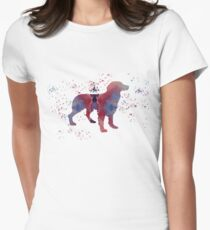 Brittany Spaniel Womens Fitted T-Shirt